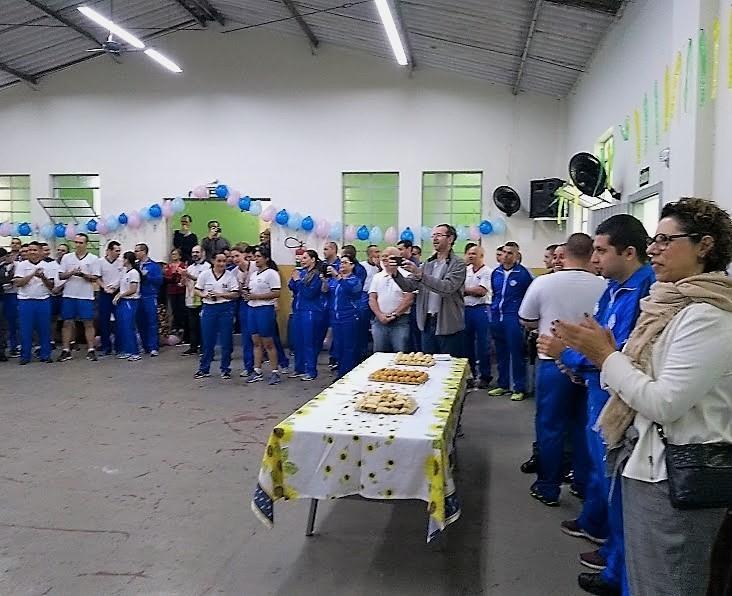 Comemoração do aniversário do comandante