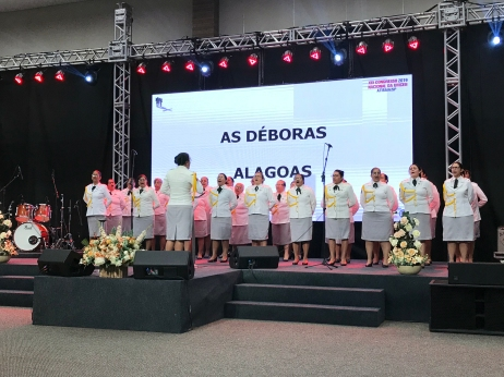 Apresentação das Déboras, de Alagoas